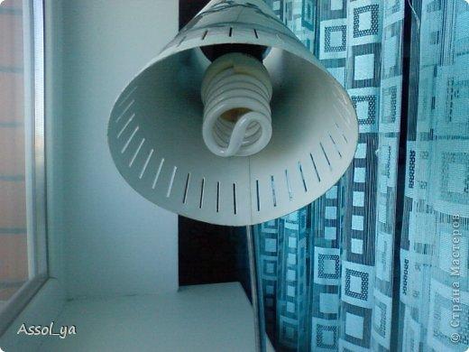 Всем привет))) Решила чуток преобразить лампу-старушку. фото 11