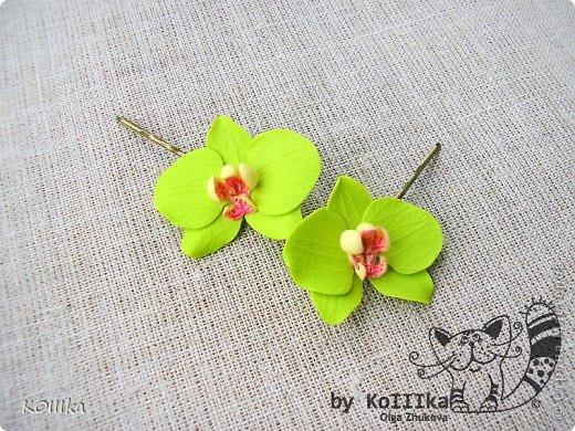 Цветы из полимерной глины в украшениях фото 3