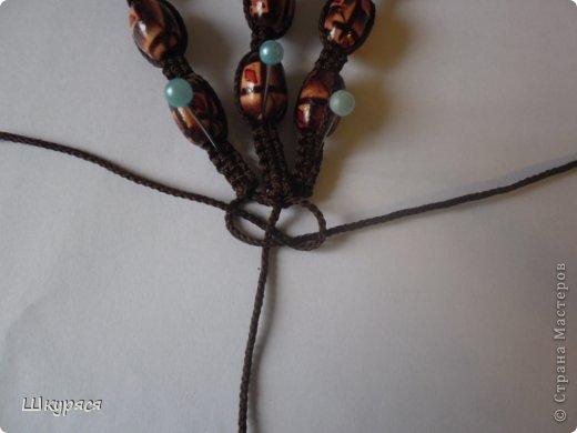 По просьбе выкладываю МК плетения тройной шамбалы. Это конечный результат фото 13