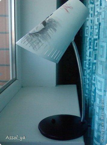 Всем привет))) Решила чуток преобразить лампу-старушку. фото 12