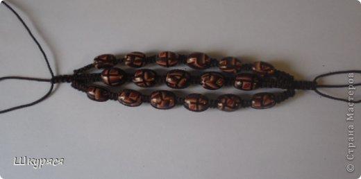 По просьбе выкладываю МК плетения тройной шамбалы. Это конечный результат фото 16