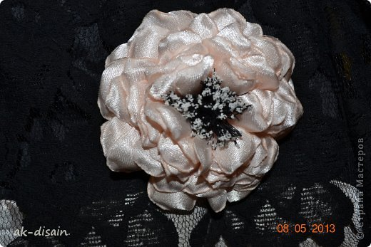 еще одно платице. цветочек делала сама. фото 3