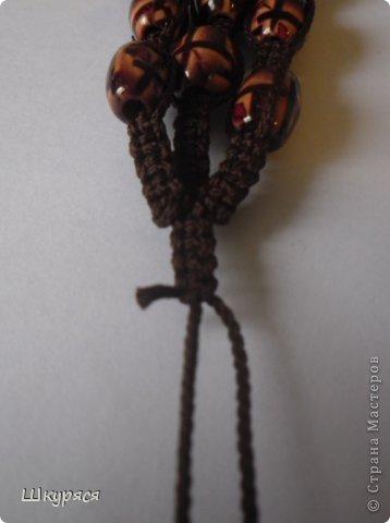 По просьбе выкладываю МК плетения тройной шамбалы. Это конечный результат фото 17