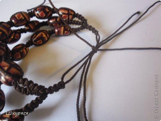 По просьбе выкладываю МК плетения тройной шамбалы. Это конечный результат фото 18