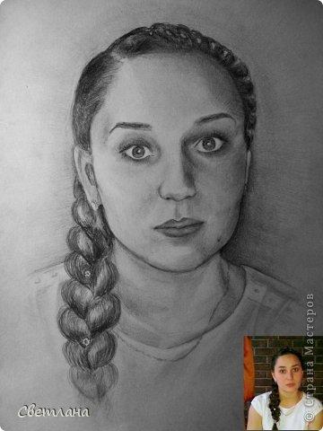 Портреты по фото карандашом  фото 3