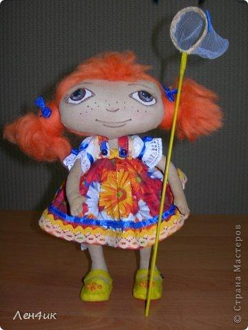 Появилась на свет такая девочка - любительница бабочек. Зовут ее Ниночка. Мечтательница........... фото 1