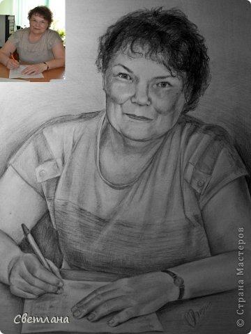 Портреты по фото карандашом  фото 5
