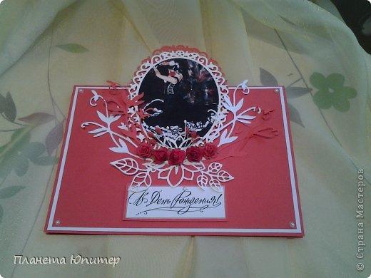 Добрый всем летний вечер! У меня сегодня очередная открытка... Коллега попросила сделать ее для своего хореографа... Я настолько вдохновилась этой идеей, что сделала ее за два вечера! Как говорится, все совпало, звезды сошлись. Во-первых, я на днях получила посылочку с очередной партией ножей, во-вторых, на днях как раз видела у кого-то подборку картинок с танцовщицами, в-третьих, сидела в голове открыточка нашей мастерицы Тимошки - Татьяны из Донецкой области. Мне осталось только все соединить воедино... https://stranamasterov.ru/node/535511?c=favusers - ссылка на прототип моей открытки. http://www.liveinternet.ru/users/rinamak/post178078753 - а это ссылка на картинки. Очень хотелось использовать именно картины, а не фотографии других танцовщиц... фото 12