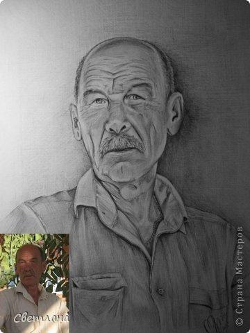 Портреты по фото карандашом  фото 4