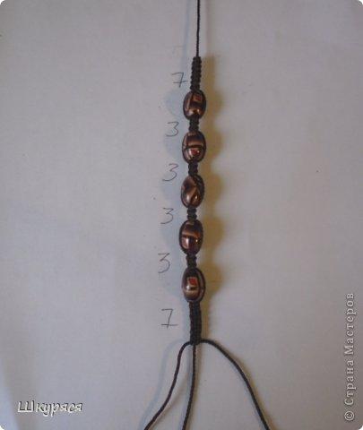 По просьбе выкладываю МК плетения тройной шамбалы. Это конечный результат фото 7