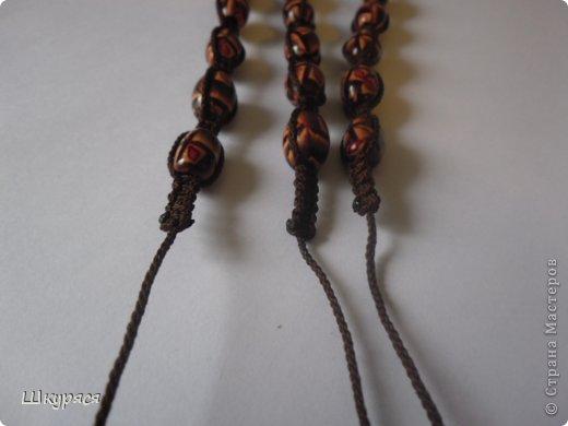 По просьбе выкладываю МК плетения тройной шамбалы. Это конечный результат фото 9