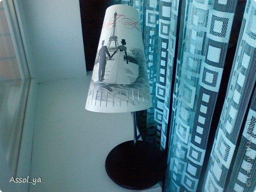 Всем привет))) Решила чуток преобразить лампу-старушку. фото 8