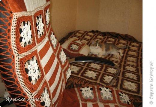 Пледы и накидки на кресло фото 7