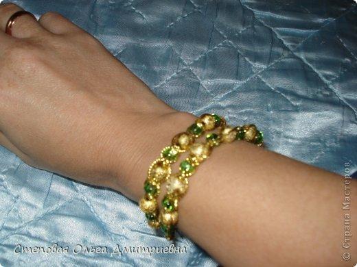 """Это одни из первых моих браслетов. Увидела """"В Контакте"""" МК видео и попробовала. фото 6"""