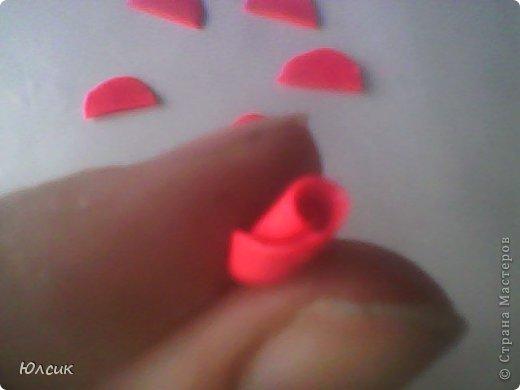 Хочу показать МК по созданию небольшой розочки из полимерной глины! фото 7
