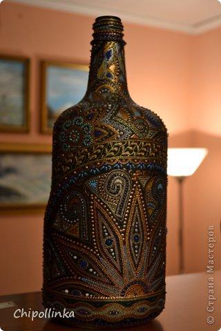 Этническая бутыль фото 1
