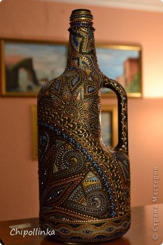 Этническая бутыль фото 3