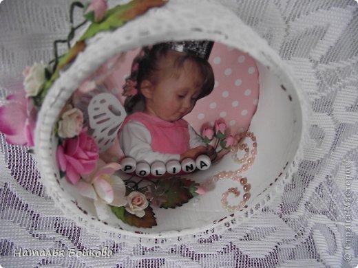 Поделка изделие Скрапбукинг День рождения Ассамбляж Книга пожеланий рамка из бобины и девичьи радости Бумага фото 4