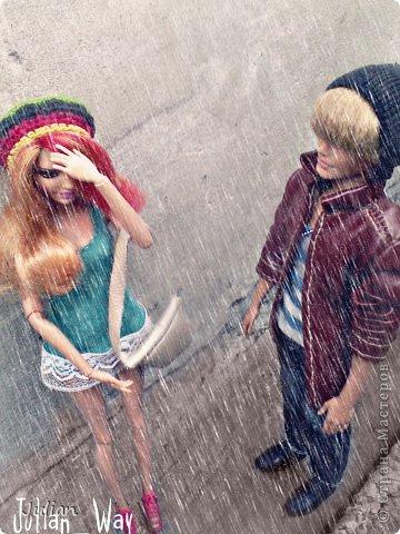 Погода начинала портиться, небо быстро затянуло тучами и начался ливень. Саммер брела по улице. То что она узнала пару часов назад терзало ее изнутри  фото 2