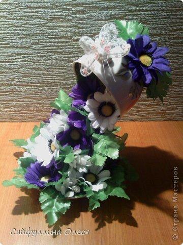 Чашка цветочного чая фото 5