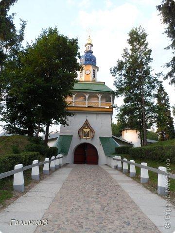Ворота монастыря. фото 1