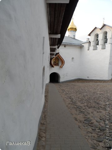 Ворота монастыря. фото 3