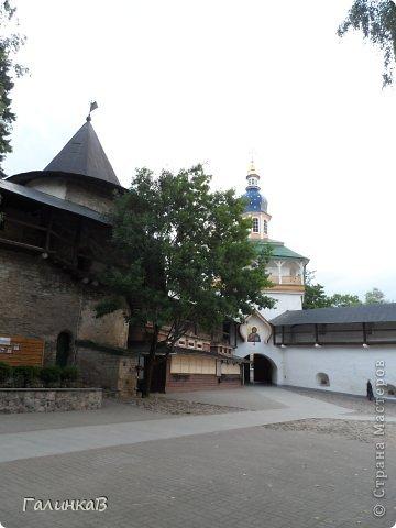 Ворота монастыря. фото 5