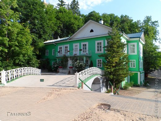 Ворота монастыря. фото 14