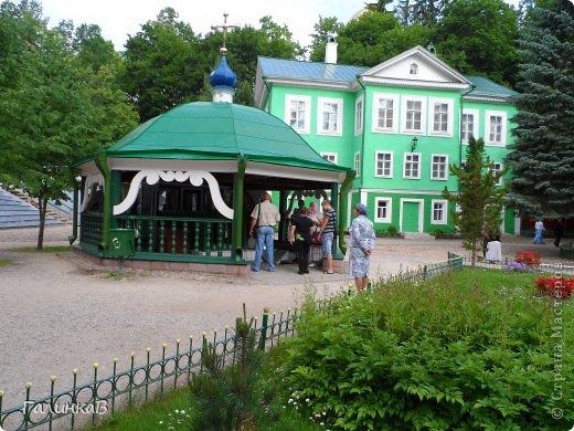 Ворота монастыря. фото 22