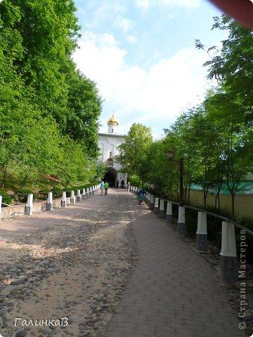Ворота монастыря. фото 26
