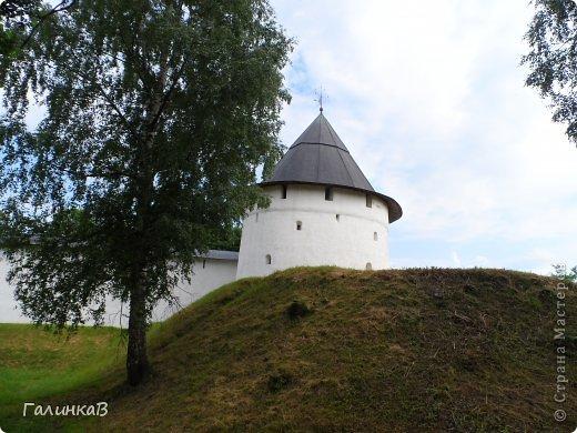 Ворота монастыря. фото 29