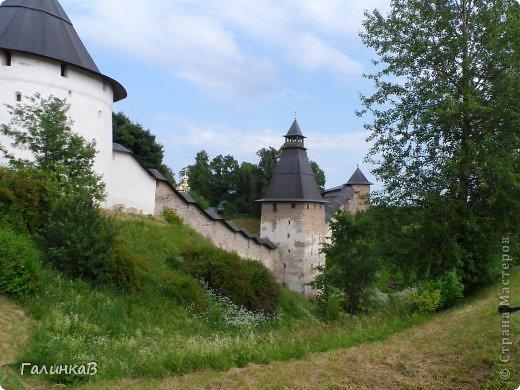 Ворота монастыря. фото 30
