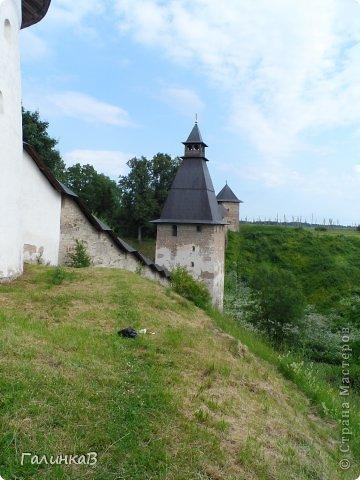 Ворота монастыря. фото 35