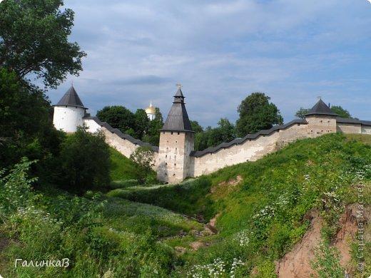 Ворота монастыря. фото 34
