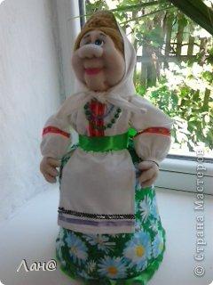 кукла-грелка на чайник фото 2