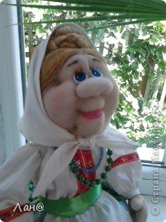 кукла-грелка на чайник фото 3