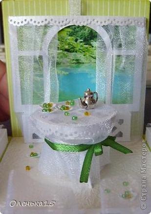 Magic box на День рождения, на заказ - для подруги, которая живет далеко. Акварельная бумага, бумага для скрапбукинга, ленты, подвески, органза, бусинки, бисер, зёрна кофе. 9*9см. фото 8