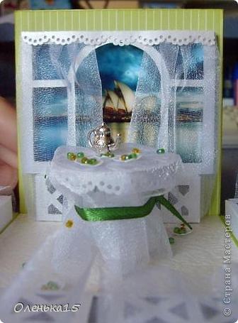 Magic box на День рождения, на заказ - для подруги, которая живет далеко. Акварельная бумага, бумага для скрапбукинга, ленты, подвески, органза, бусинки, бисер, зёрна кофе. 9*9см. фото 16