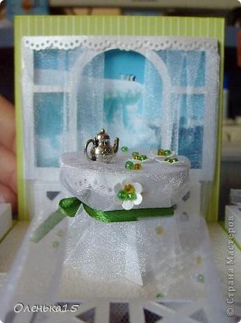 Magic box на День рождения, на заказ - для подруги, которая живет далеко. Акварельная бумага, бумага для скрапбукинга, ленты, подвески, органза, бусинки, бисер, зёрна кофе. 9*9см. фото 17