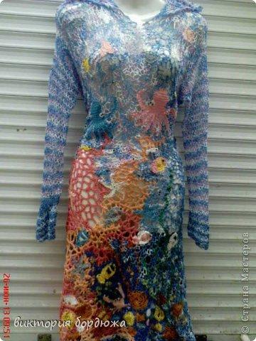 платье по мотивам моря фото 1