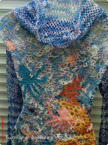 платье по мотивам моря фото 2