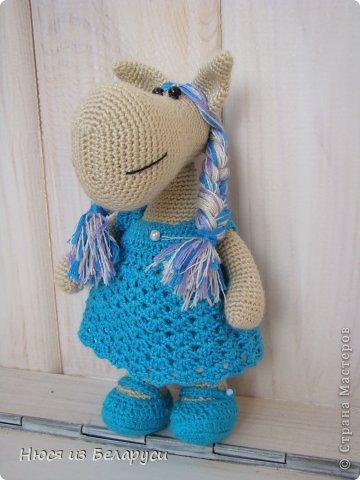 У лошадок тоже плетутся косички )))