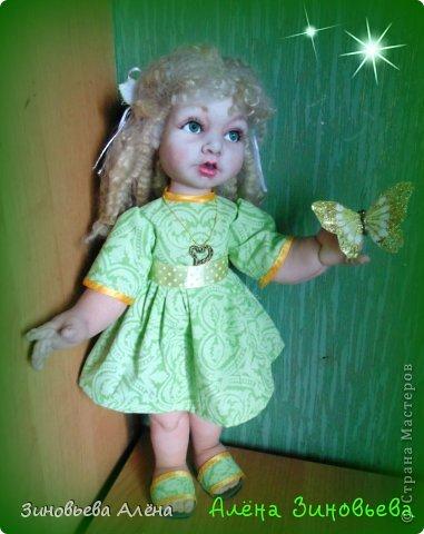 Добрый день или вечер!!  Представляю свою новую куклу.Дочки назвали Галиной.