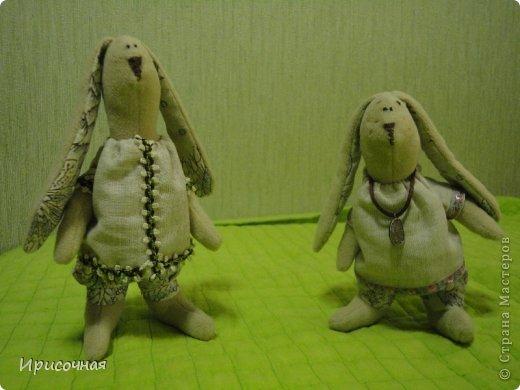 Вот такие зайцы у меня получились фото 2