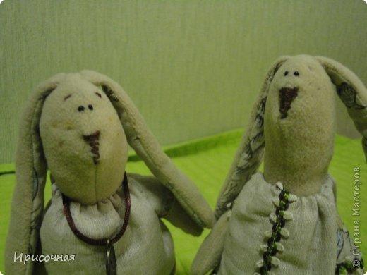 Вот такие зайцы у меня получились фото 5