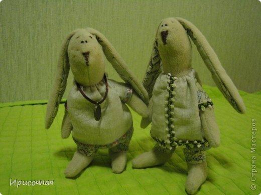 Вот такие зайцы у меня получились фото 1