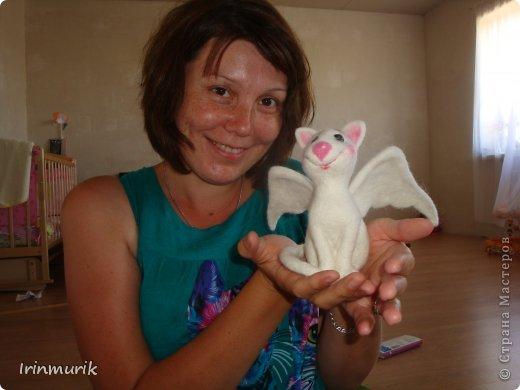 Это большущие продвижение в валянии у меня))), я до сих пор не верю, что сделала её))) фото 1