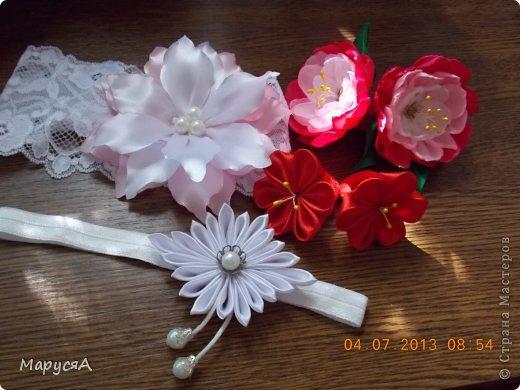 Цветочки давно лежали готовые, наконец-то решила куда применить))) фото 1