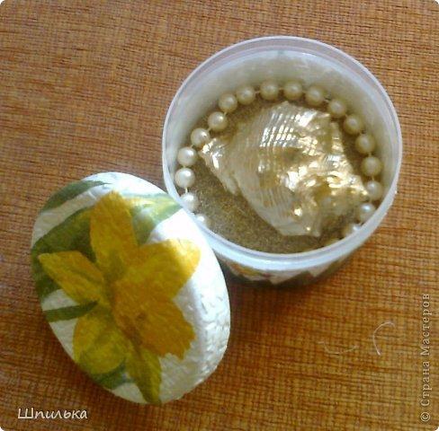 """""""Летнее настроение"""" тарелочка(материал:Тарелка,салфетка,яич.скорлупа,клей ПВА,лак акриловый,краска акриловая белая) фото 11"""