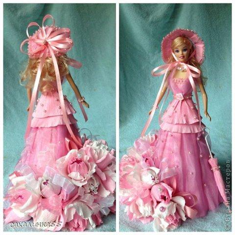 Кукла из гофрированной бумаги своими руками